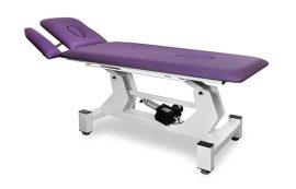 Rehabilitációs vizsgáló asztal, masszázságy (SR2E), állítható magasságú