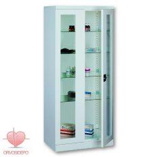 Gyógyszertároló szekrény, két ajtós (fém 112)
