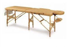 Összecsukható masszázs ágy, fa, extra alátámasztással ODTRF