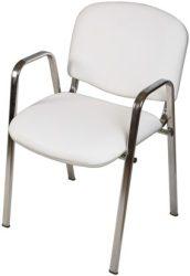 ISO Full Króm, kórtermi támlás szék karfával
