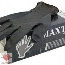 Maxter Nitril kesztyű, fekete (100 db/doboz)