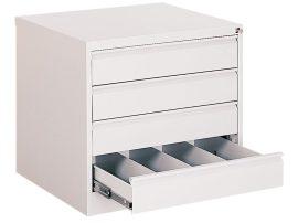 Kartotéktároló szekrény, fém (103)