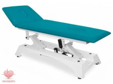 Állítható magasságú masszázságy (ODTS), elektromos, lábbal vezérelhető, 17-es műbőr színnel