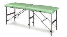 Összecsukható masszázs ágy, alumínium , állítható magasságú ODTA