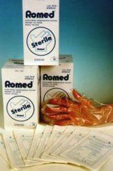 Steril fóliakesztyű (Romed) 100 db.