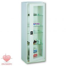 Gyógyszertároló szekrény, egy ajtós (fém 101)