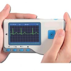 EKG Monitor, Kézi Cardio-B Szoftverrel + Bluetooth stickkel