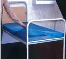Matracvédő huzat/lepedő, gumírozott széllel.10 db/cs. (210x90x20cm)