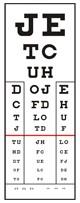Előlap Visus S Látásvizsgáló táblához