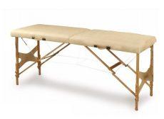 Összecsukható masszázs ágy, fa, állítható magasságú ODDOF